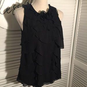 🌺 Ann Taylor Chiffon Dress Top